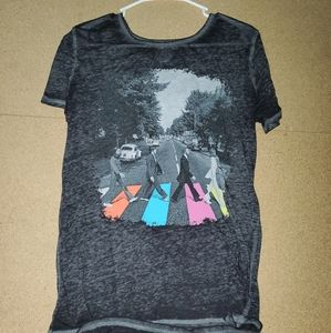 Beatles Black T-shirt